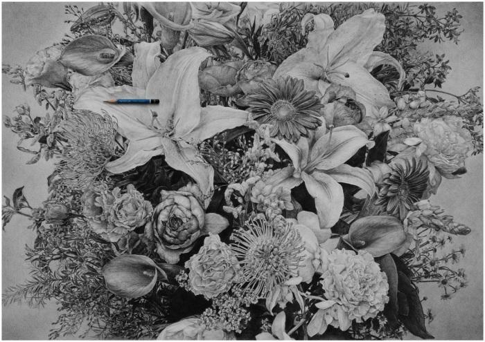 Staedtler Flower Print Ad