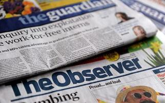 BRITAIN GUARDIAN THE OBSERVER CLOSE